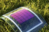 The project's target is to produce organic solar cells using environmentally compatible production processes