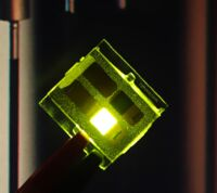 A green OLED made by cynora