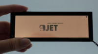 An OLED manufactured with the new technology