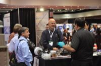 A demonstration at Printed Electronics USA 2012